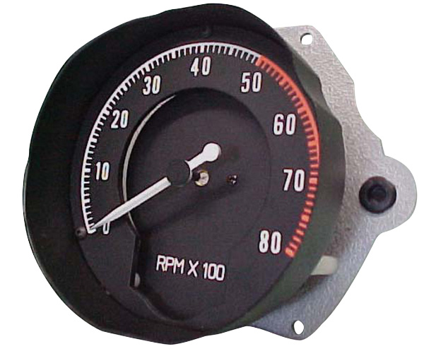 Accessories No 03 Clocks: Tachometer 68-70 B-Body Rallye Dash No Clock