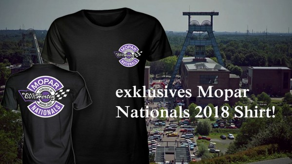 T-Shirt, Mopar Nationals 2018, Frauen Gr. XL