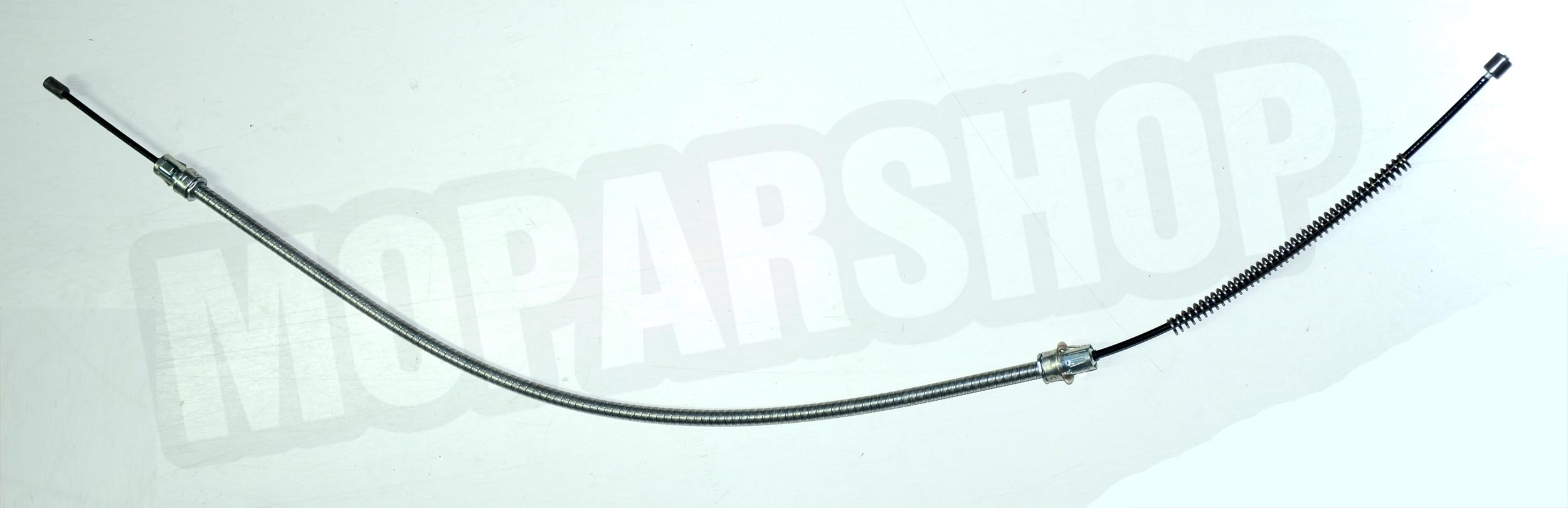 attaching parking brake cable