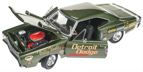 Modellauto, 69 Dodge Super Bee Wally Booth