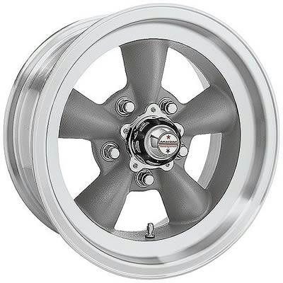 Felge, Torq-Thrust D 15 x 8.5 grau, Backspace: 3.75″